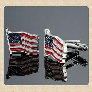 Other - American Flag Cufflinks